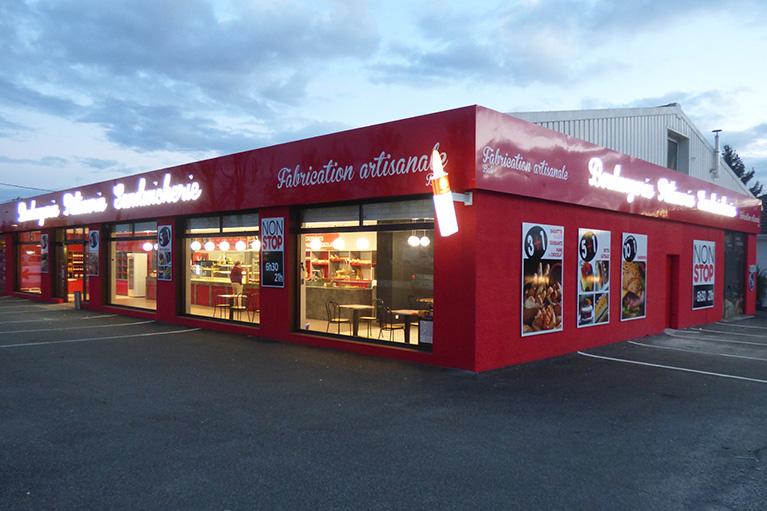 Façade commerciale de Boulangerie