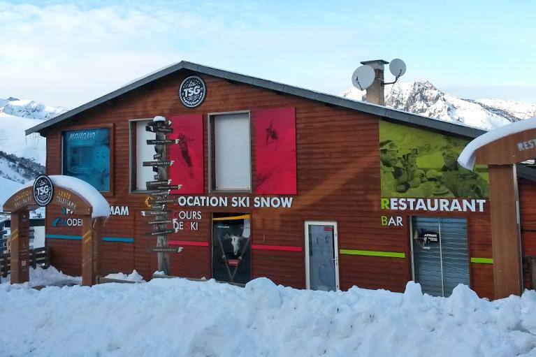 Panneau Top-Ski-Glisse