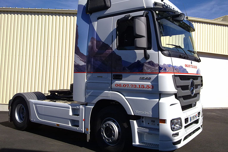 Covering camion poids lourd