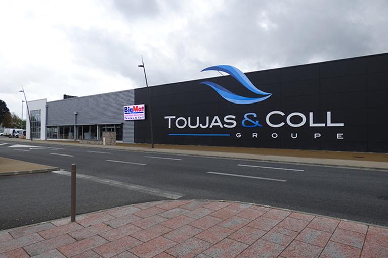 Enseigne TOUJAS & COLL