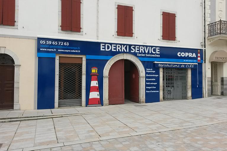 Panneau pour habillage complet de façade EDERKI